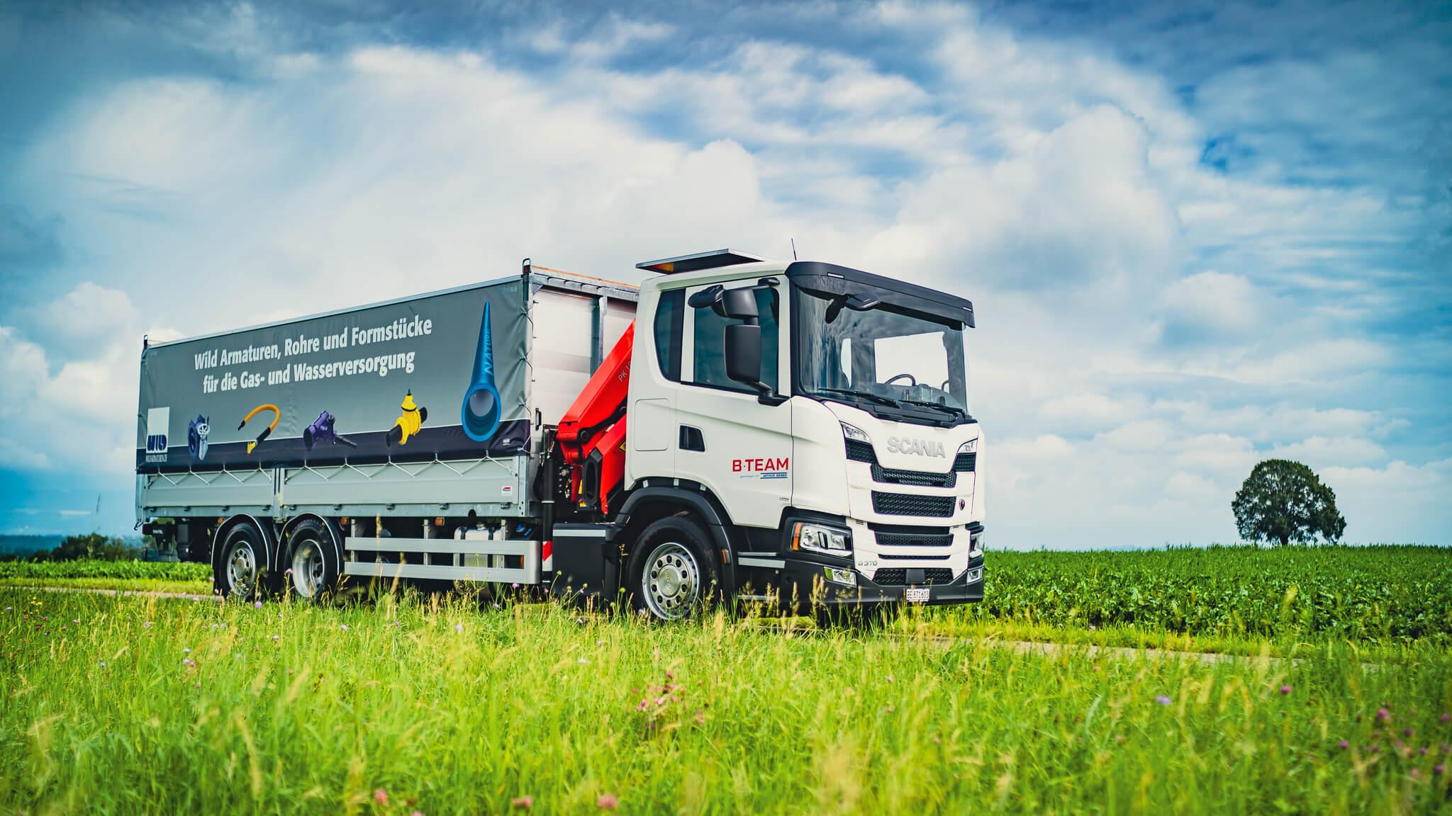 Neuer Scania B TEAM